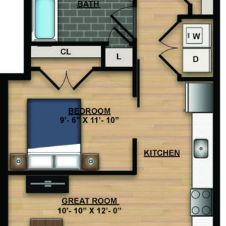 1 Bedroom apartments old city philadelphia