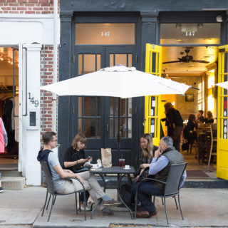 Conveniently proximate cafes and restaurants near The National apartment building for residents in Old City