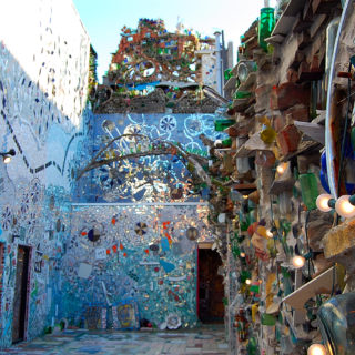 Philly Magic Gardens near Old City Philadelphia apartment