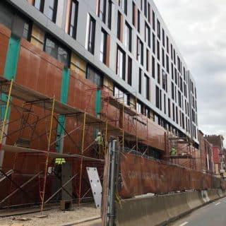 Old City Philadelphia apartment building exterior